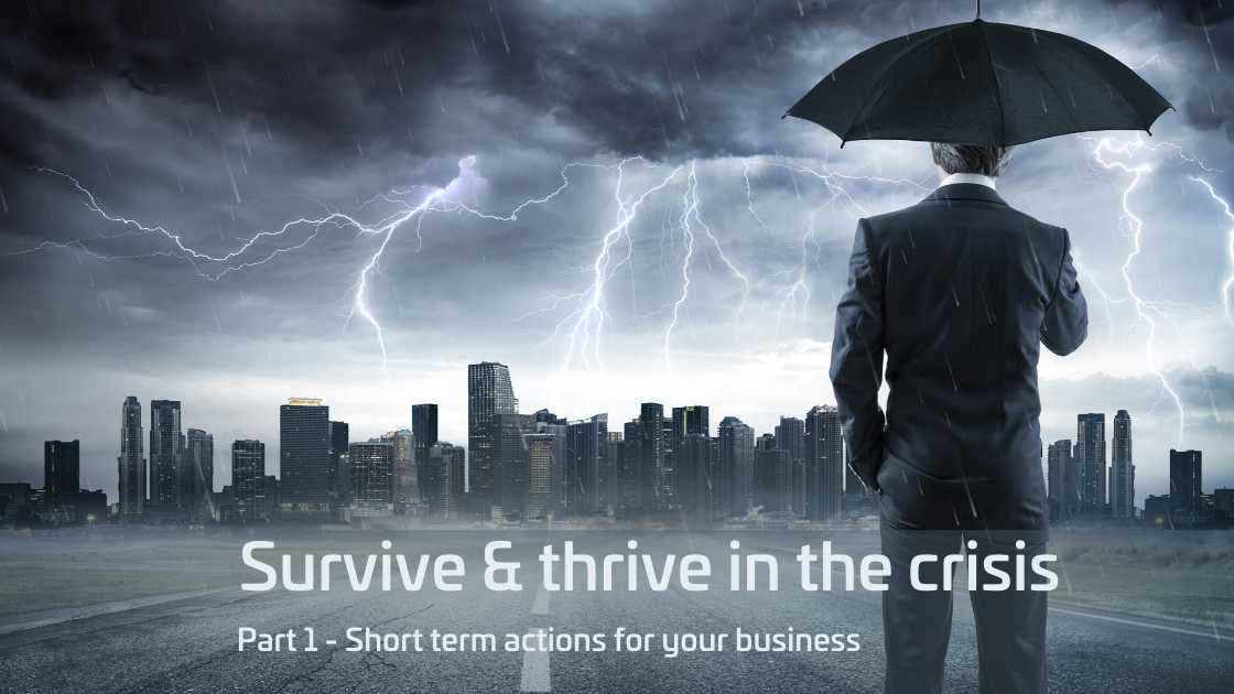 Survive & Thrive in a Crisis - The Value Engine